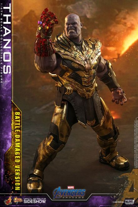 *Pre Order* Hot Toys 1:6 Marvel Avengers: Endgame Thanos (Battle Damaged)